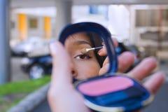 都市的化妆用品 库存图片