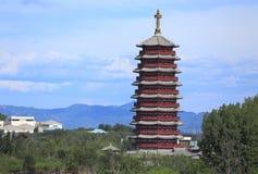 都市的北京,中国 库存照片