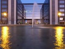 都市的喷泉 库存图片