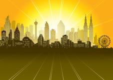 都市的场面 图库摄影
