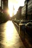 都市的场面 免版税库存图片