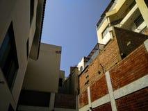 都市的天空 免版税库存照片