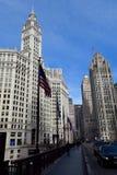 都市的峡谷 免版税图库摄影