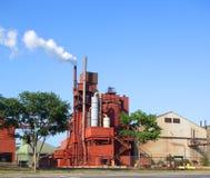 都市的工厂 免版税库存照片