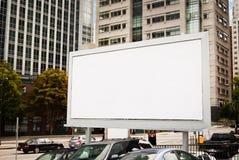 都市的广告牌 库存图片