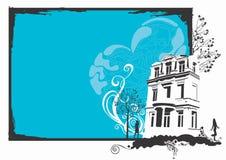 都市的房子 免版税库存图片