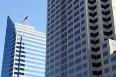 都市的摩天大楼 库存图片