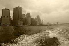 都市的摩天大楼 库存照片