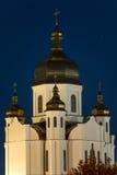 都市的教会 免版税库存图片