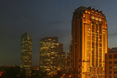 都市的新加坡 免版税库存图片