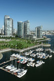 都市的海滨广场 免版税库存图片