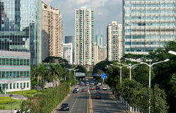 都市的生活 免版税库存照片