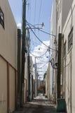 都市的胡同 免版税库存图片