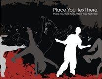 都市的舞蹈 免版税库存图片
