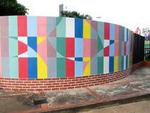 都市的艺术 运动走廊 库存照片