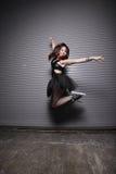 都市的芭蕾舞女演员 免版税库存照片