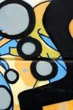 都市的街道画 免版税库存照片