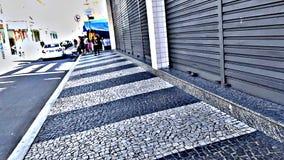 都市的街道 免版税库存图片