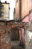 都市的贫民窟 免版税图库摄影