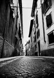 都市的贫民窟 图库摄影