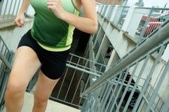 都市的赛跑者 免版税图库摄影