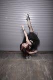 都市的跳芭蕾舞者 库存照片