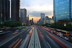 都市的运输 库存照片