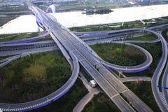 都市的运输 免版税库存图片