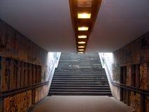 都市的隧道 库存图片