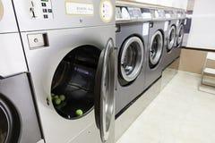 都市的洗衣店 库存图片