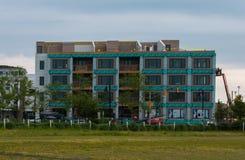 都市的建造场所 免版税库存图片