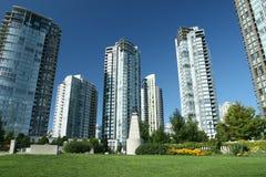 都市的greenspace 免版税库存照片
