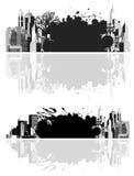 都市的grunge 免版税图库摄影