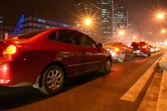 都市的nightscop 图库摄影