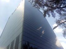 都市看法 城市大厦 免版税库存照片