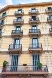 都市看法巴塞罗那的美好的风景 图库摄影