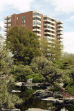 都市绿色的空间 免版税库存照片