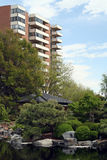 都市绿色的空间 图库摄影