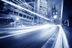 都市背景的运输 免版税库存照片