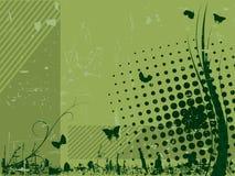 都市背景的grunge 免版税库存图片