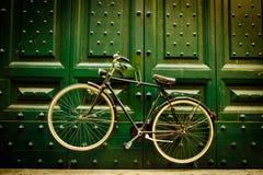 都市自行车 免版税库存图片