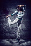 都市舞蹈 库存图片