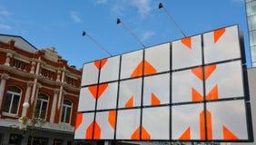都市艺术品在克赖斯特切奇-新西兰 免版税库存图片