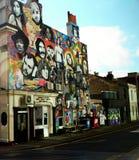 都市艺术街道画 免版税库存照片