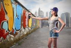 都市艺术 免版税图库摄影