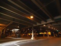 都市芝加哥的停车 免版税图库摄影
