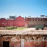 都市荒原 免版税库存照片