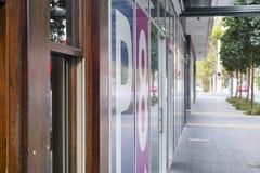 都市街道奥林匹克公园悉尼澳大利亚 库存图片