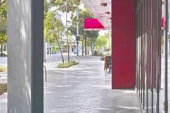 都市街道奥林匹克公园悉尼澳大利亚 免版税库存图片