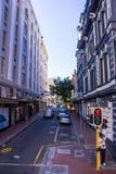 都市街道开普敦 免版税库存照片